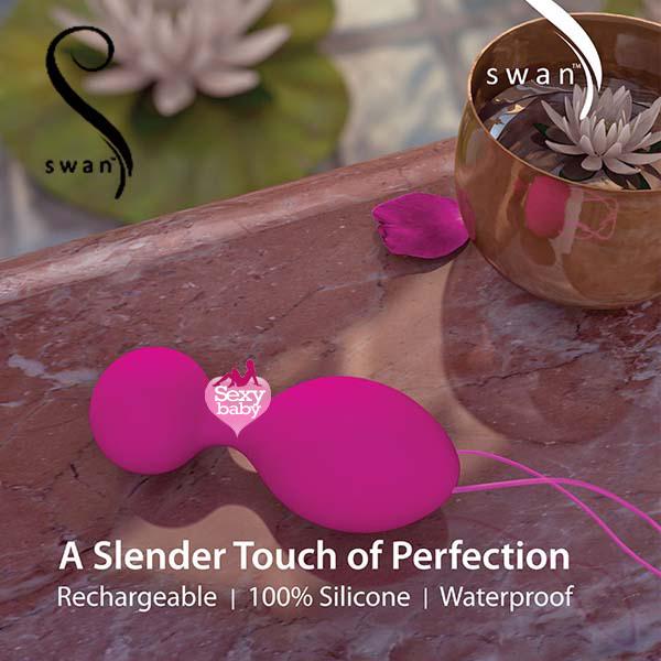 情趣精品-加拿大 SWAN-The Swan Clutch 天鵝掌握 聰明球球 頂級奢華鍛鍊器