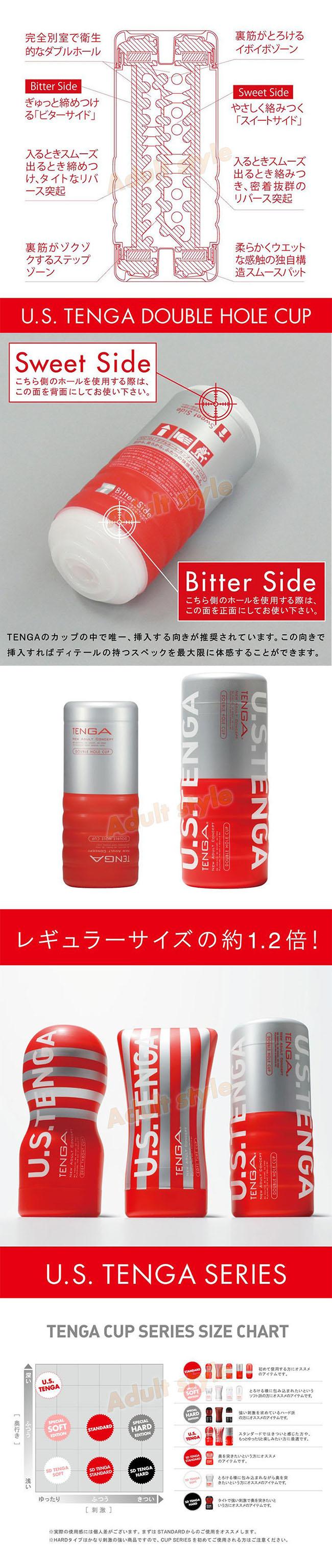 飛機杯-日本TENGA-體位工學杯(挺二重奏杯US加大版)